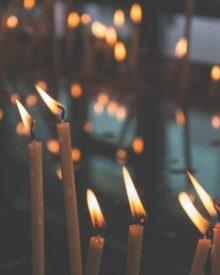 приворот на скрученные свечи